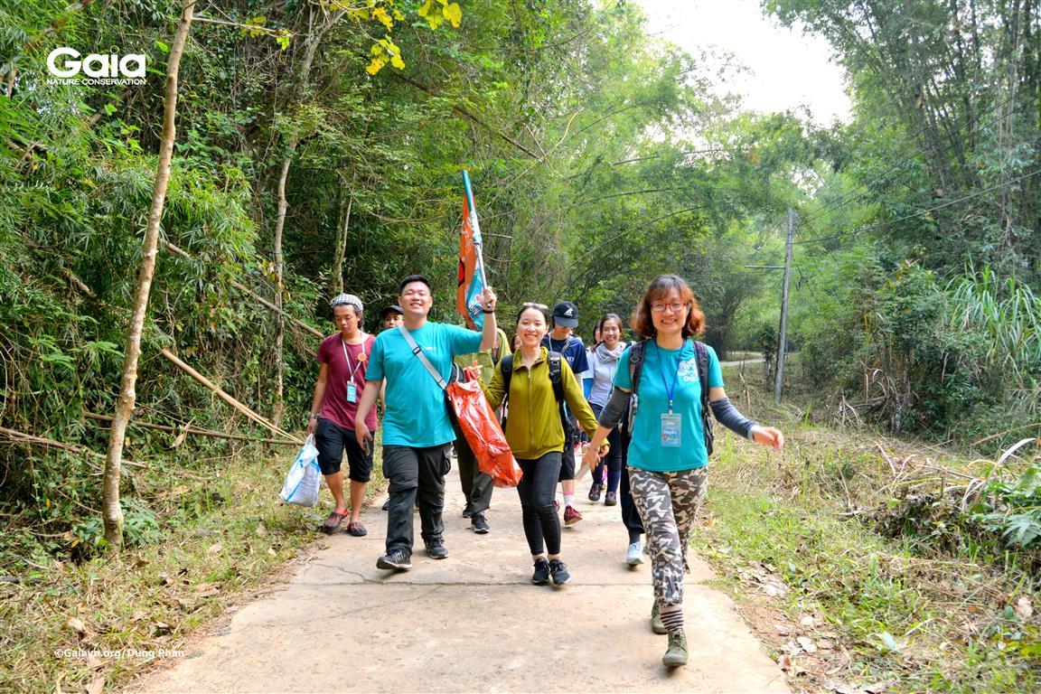 Hào hứng khám phá Vườn quốc gia Cát Tiên.