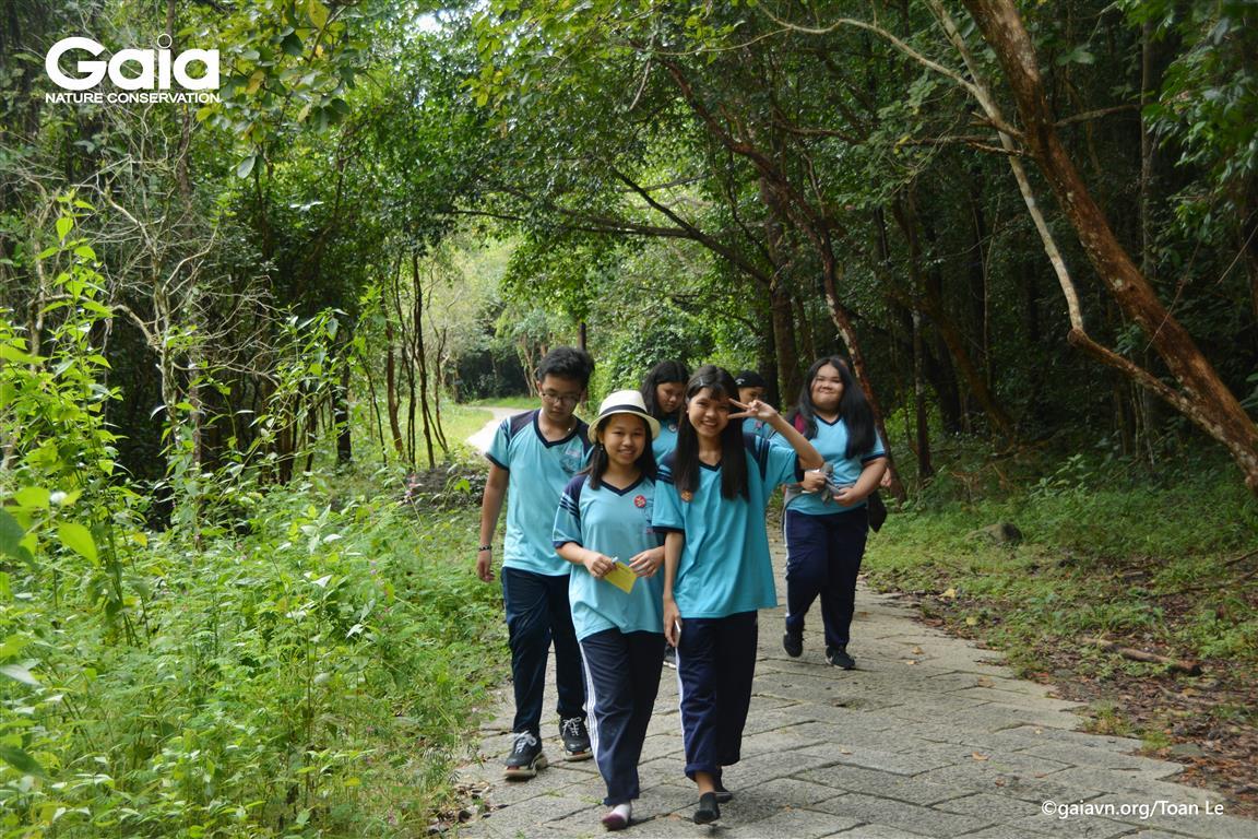 Hào hứng khám phá rừng