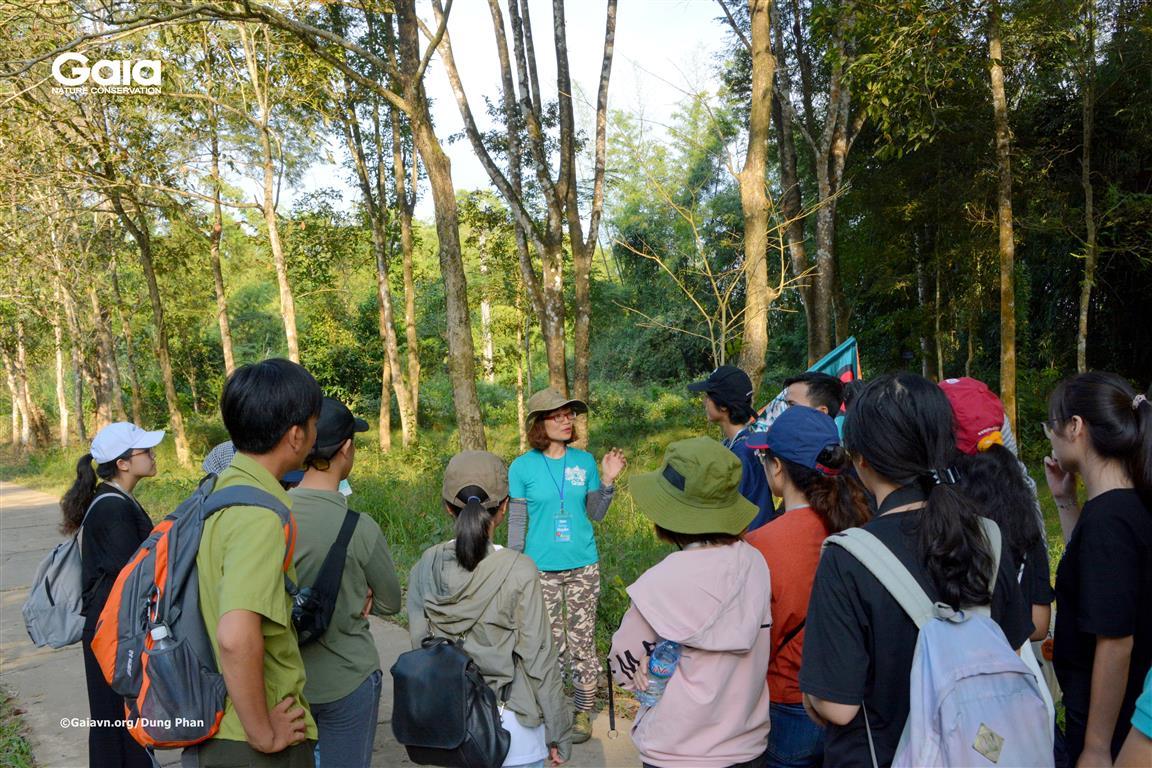 Hướng dẫn trải nghiệm rừng.