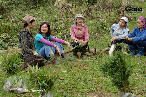 Khu Bảo tồn Thiên nhiên Xuân Liên trước đây vốn là đất canh tác của người dân địa phương.