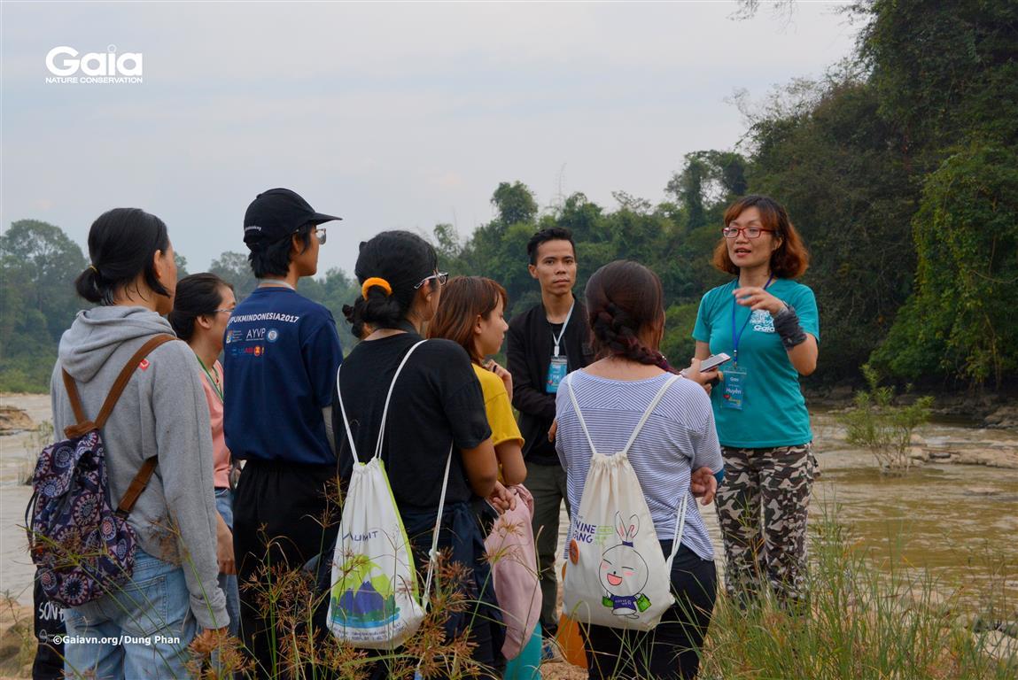 Bà Đỗ Thị Thanh Huyền – Nhà sang lập & Giám đốc Trung tâm Bảo tồn Thiên nhiên Gaia chia sẻ câu chuyện về sông Đồng Nai.