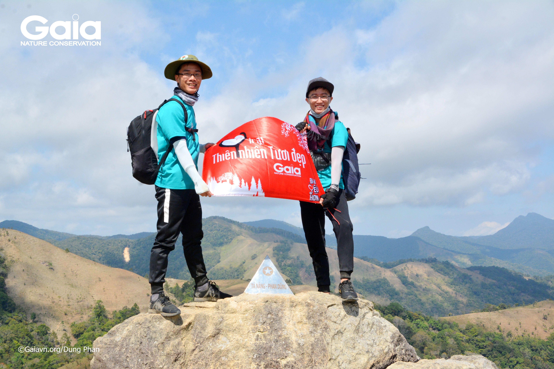 Trại sinh của Trại Thiên nhiên tươi đẹp tại cột mốc 3 tỉnh Lâm Đồng, Bình Thuận, Ninh Thuận.