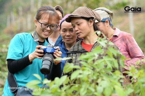 Ghi lại những khoảnh khắc đẹp trong trồng rừng và giám sát rừng