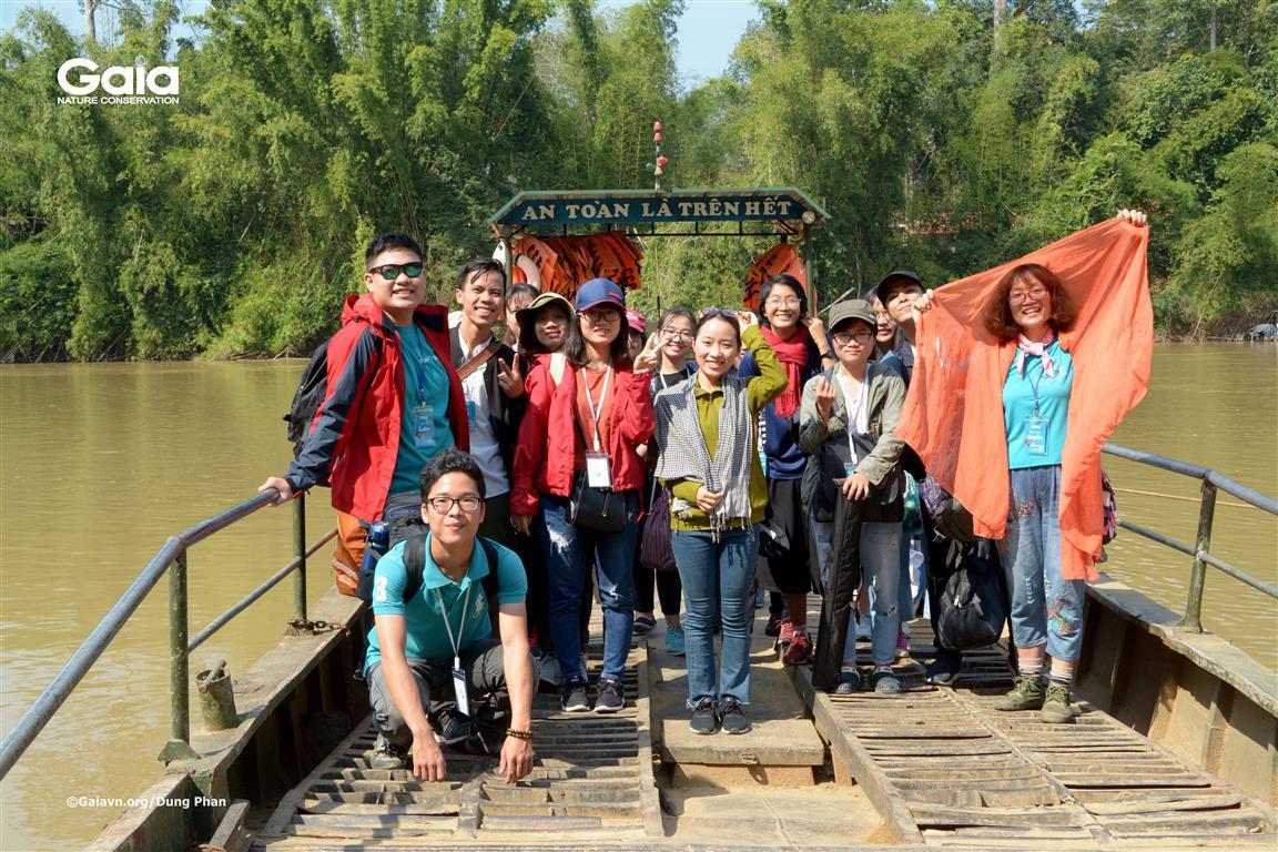 Hành trình bắt đầu tại Vườn quốc gia Cát Tiên.