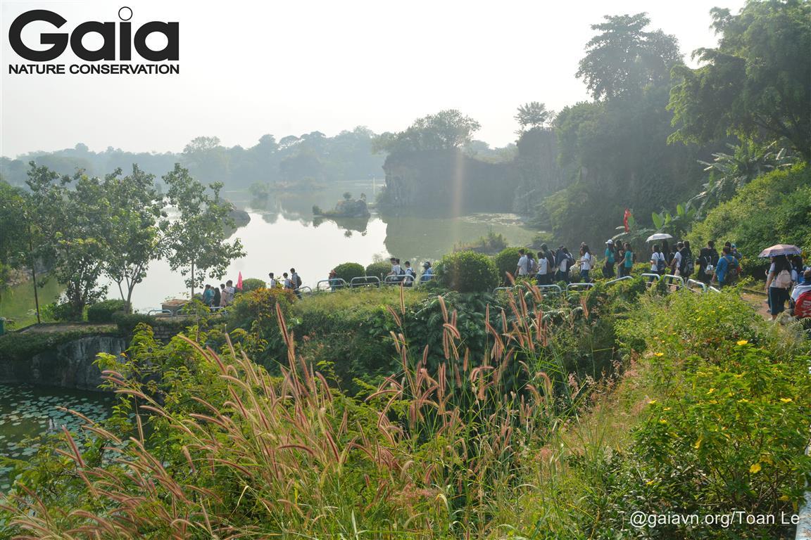 Khám phá lịch sử hình thành Hồ Long Ẩn.