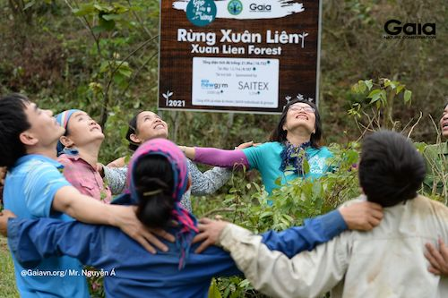 Lan tỏa yêu thương và sức sống mãnh liệt tới rừng Xuân Liên