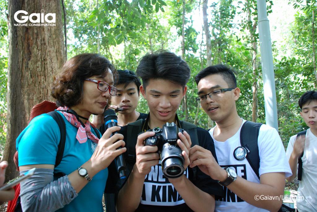 Kết quả thử thách: chụp ảnh mối liên hệ giữa các yếu tố trong hệ sinh thái rừng