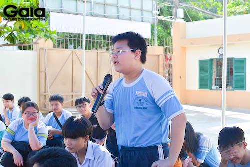 Học sinh háo hức chia sẻ về cây