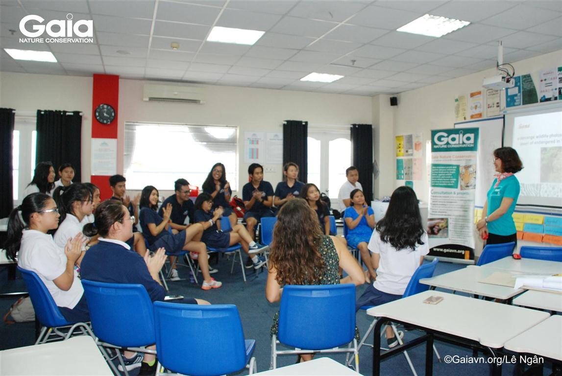 Học sinh có thể tham gia bảo vệ động vật hoang dã