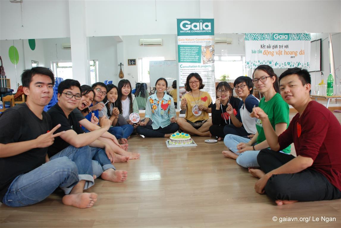 Mừng sinh nhật GAIA và sinh nhật bạn tình nguyện viên