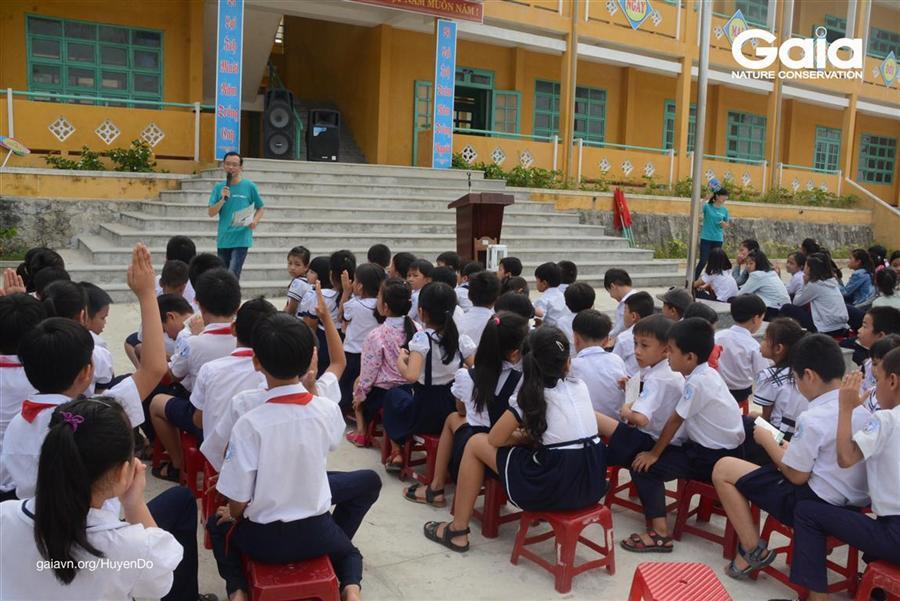 Một tình huống thực tế về hành động của học sinh nhằm bảo vệ Cù Lao Chàm