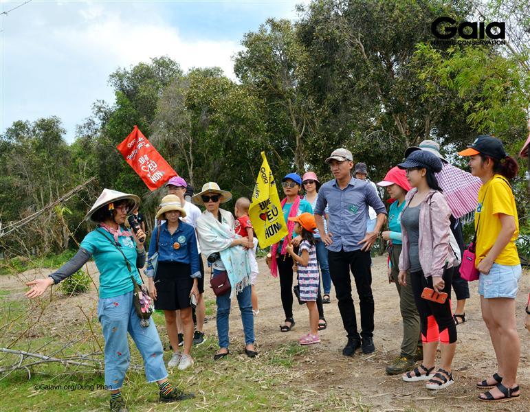 Bà Đỗ Thị Thanh Huyền - Nhà sáng lập&Giám đốc Trung tâm Bảo tồn Thiên nhiên Gaia chia sẻ câu chuyện thiên nhiên.