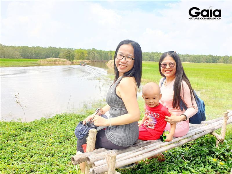 Gia đình kết nối qua các hoạt động cùng Gaia.