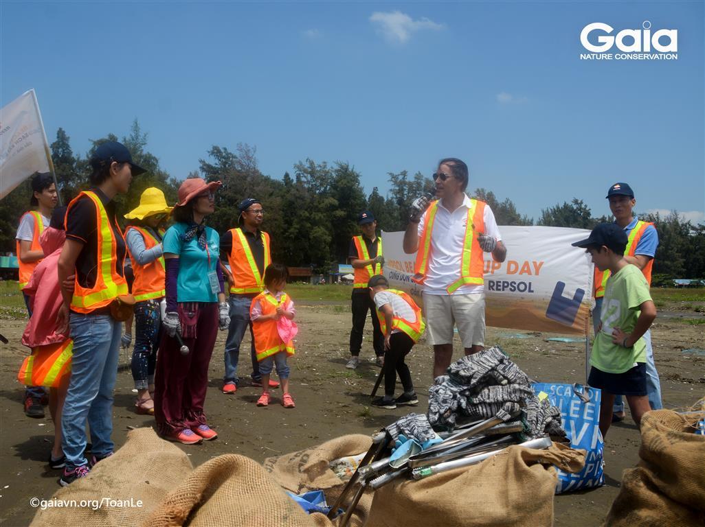 Chúc mừng công ty REPSOL đã hoàn thành xuất sắc nhiệm vụ Dọn sạch bãi biển Cần Giờ