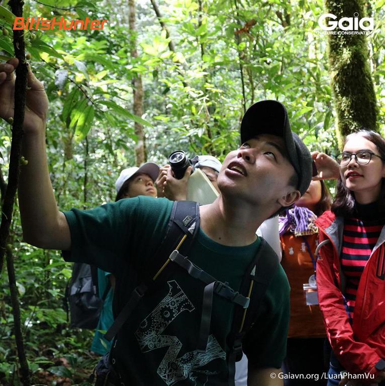 """Khám phá các loài động thực vật, nấm, rong rêu trong khu rừng """"Cao đỉnh khí hậu""""; Rừng kín thường xanh, mưa mùa á nhiệt đới."""