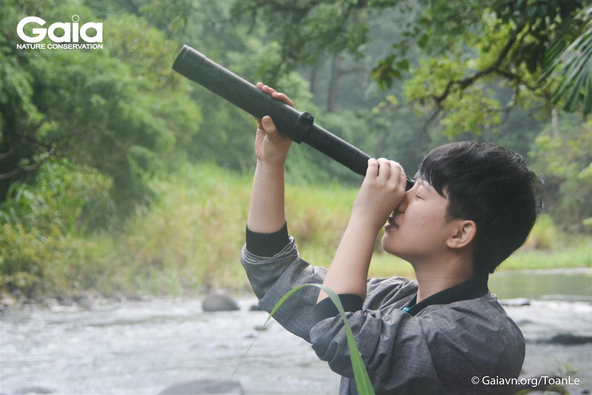 Xem chim ở rừng Bù Gia Mập