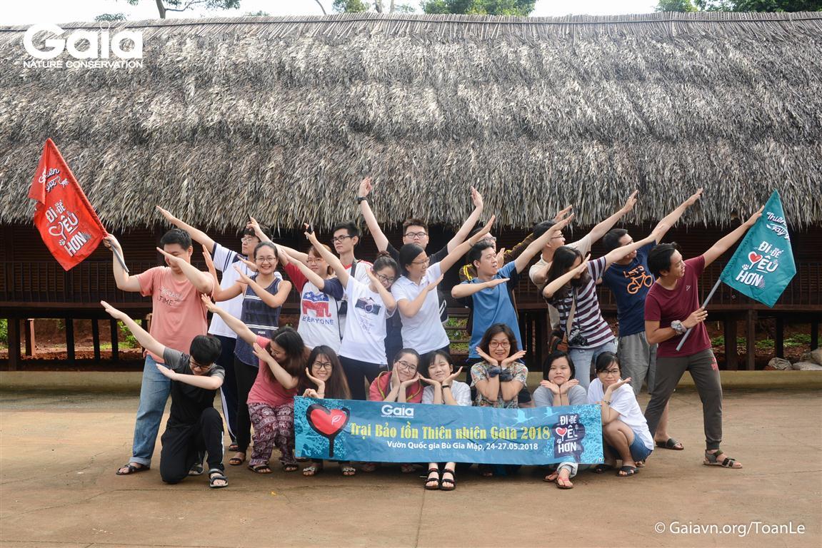 Khoảnh khắc vui nhộn tại Trại Bảo tồn Thiên nhiên Gaia 2018.