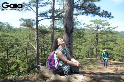 Thư giãn giữa thiên nhiên