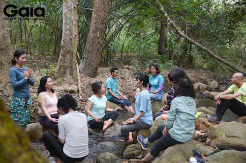 Sinh hoạt giữa rừng xanh