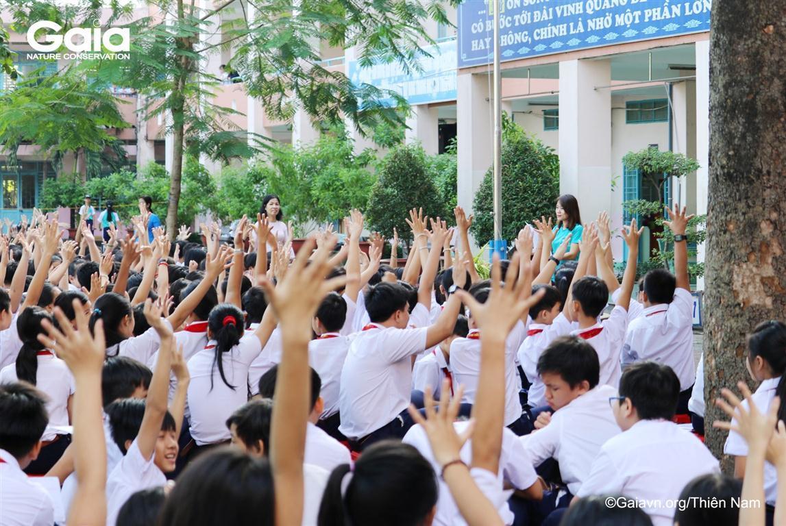 Học sinh lớp 7,9 hào hứng tham gia Đố vui kiến thức