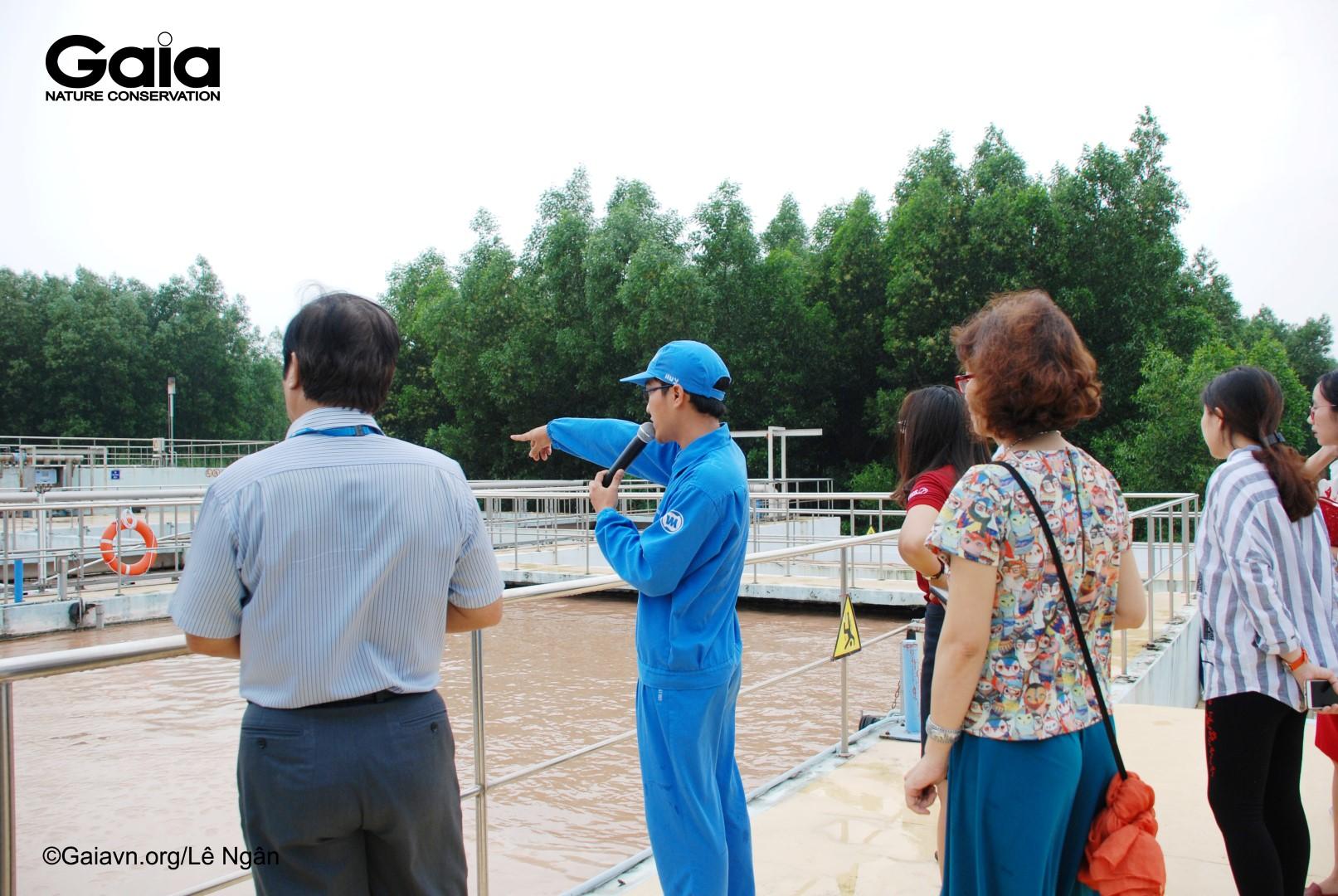 Tham quan hệ thống xử lý nước thải