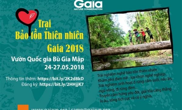 Trại Bảo tồn Thiên nhiên Gaia 2018