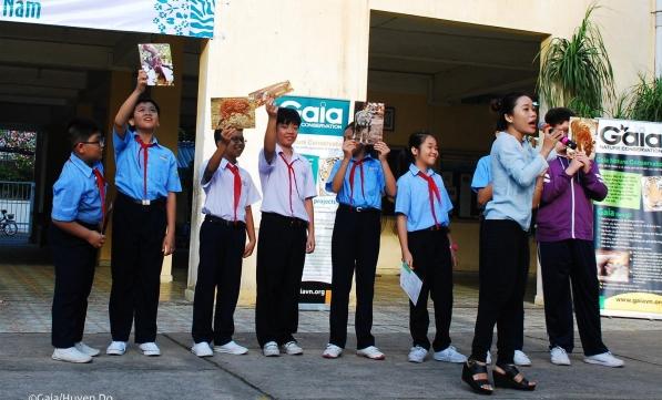3000 học sinh Trung học cơ sở tìm hiểu động vật hoang dã quý hiếm Việt Nam.