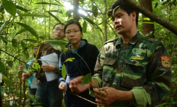 Bạn trẻ trải nghiệm nghề bảo tồn thiên nhiên tại Trại Gaia 2018