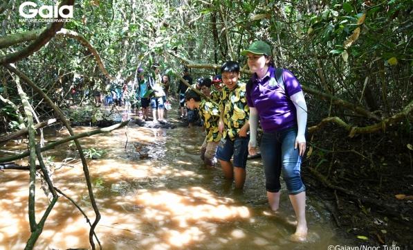 750 học sinh học tập trải nghiệm thiên nhiên Đồng Nai