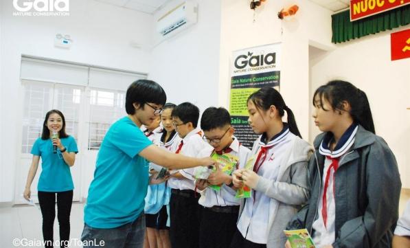 Học sinh tìm hiểu động vật hoang dã Việt Nam  #1-2017-2018